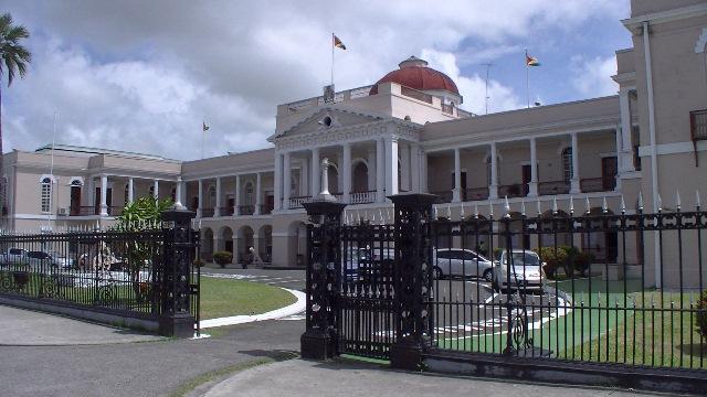 ガイアナ国会2